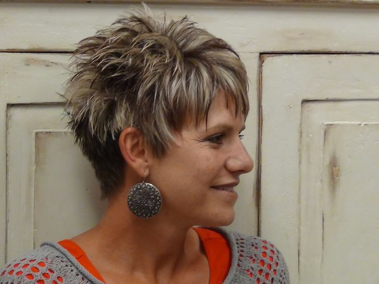 Fun Short Hairstyles | Super Fun Haircut and Style for the summer. Here Radona shows a ...