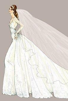 Kate Middleton Wedding dress design – Alexander Mc…