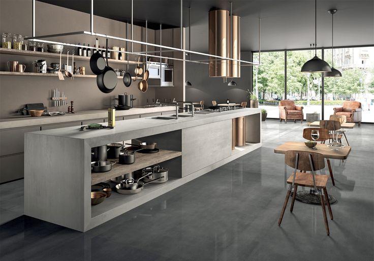 Cuisine tendance : noire, couverte d'or ou enveloppée de gris, découvrez nos 7 bons looks à suivre pour un cuisine tendance....