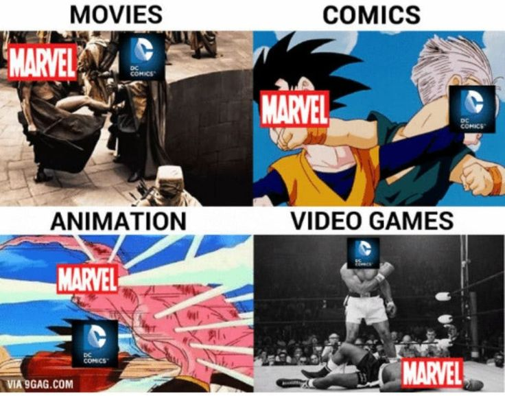 12 Memes Displaying how DC is Higher than Marvel [DC>Marvel]
