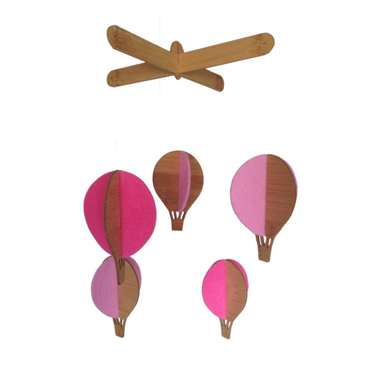 Mobile - Hot Air Balloon - Cot Mobiles - Baby Belle