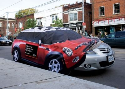MINI: Dress Your Car Up for Halloween 2 - Print (image) - Creativity Online