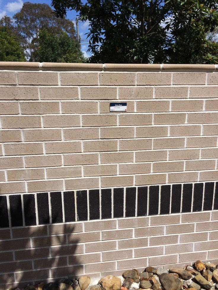 Brick love. Moon dust colour brick.