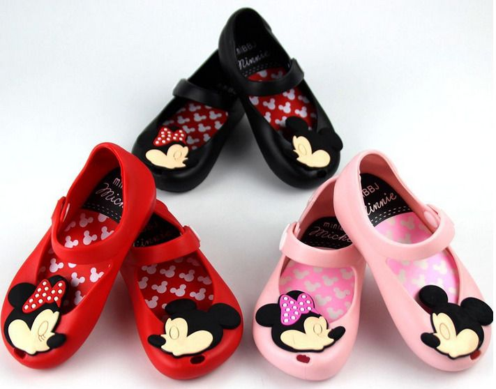 Melissa Remake Cartoon Mickey mouse Minnie Sandals Jelly Shoes Kids Toddler Gift #Unbranded #Sandals #AllOccasion