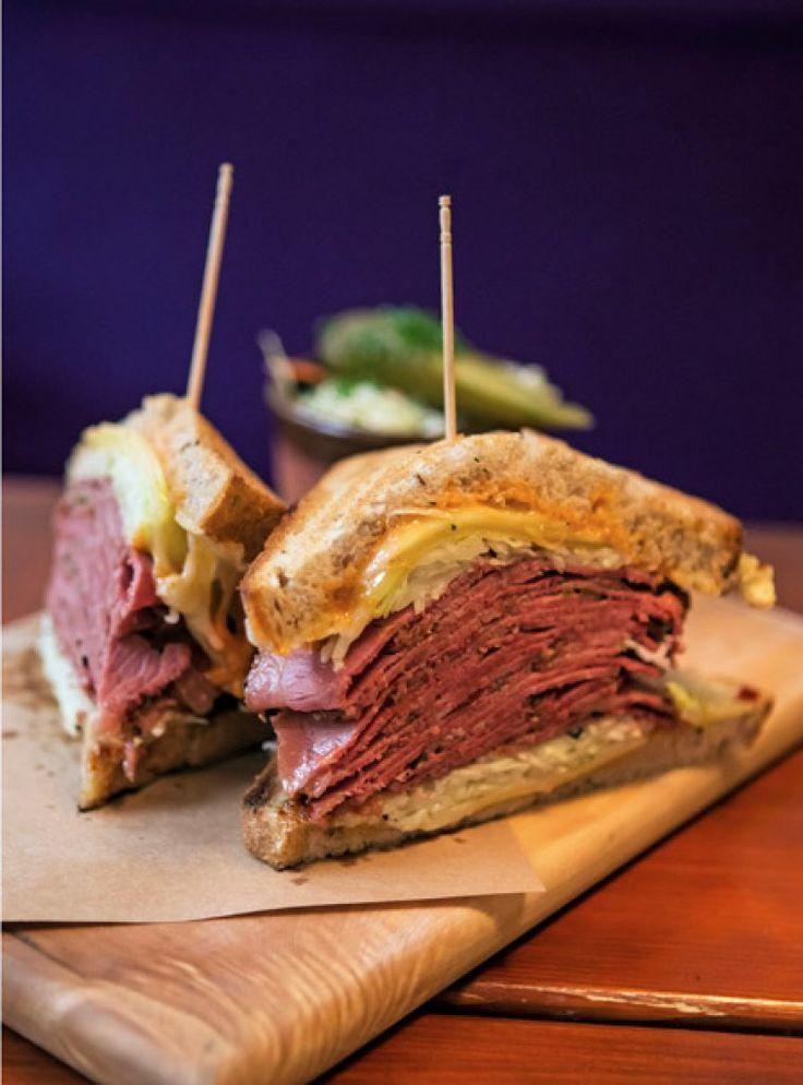 Unique Pastrami Sandwich