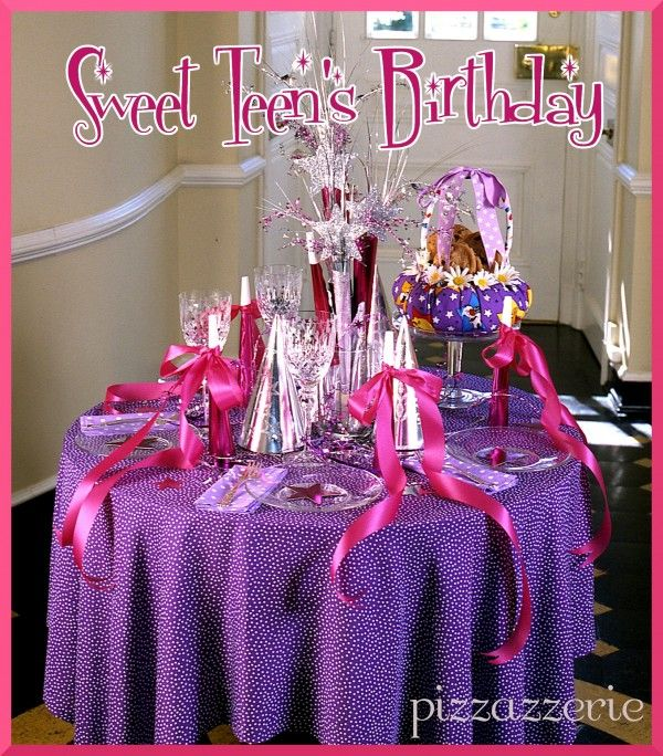 22 Best Teen Birthday Party Ideas For Girls Images On