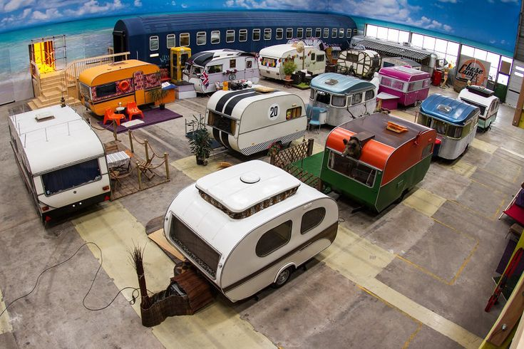 Indoor Vintage Campground Is Bonn's Newest Hostel — The Pop-Up City