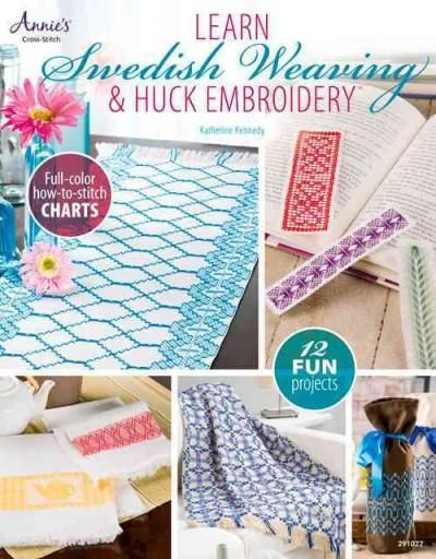 Filled with step-by-step photos, color stitch charts, and informative drawings, this book teaches a simple, straightforward needlework form that can be mastered and enjoyed by all ages: Swedish weavin