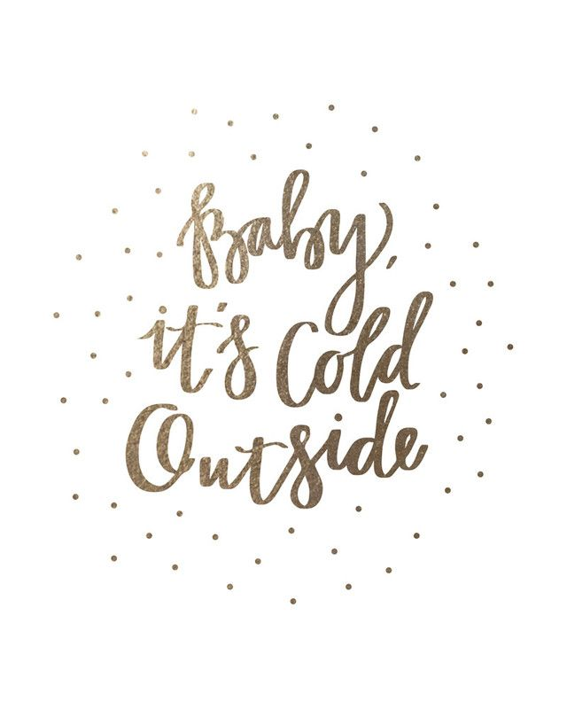 baby it's cold outside lyrics