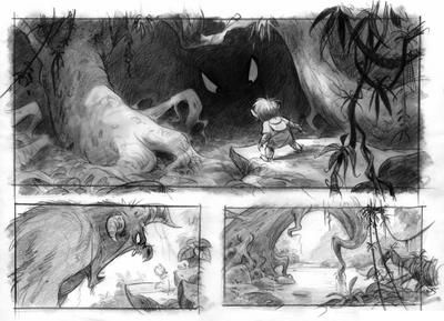 Best Storyboard Art Images On   Concept Art