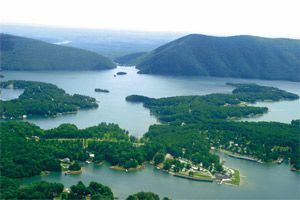 Smith Mountain Lake, Virginia -- would love to return here someday soon.