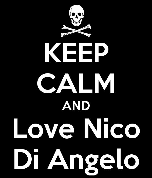 KEEP CALM AND Love Nico Di Angelo - KEEP CALM AND CARRY ON Image ...
