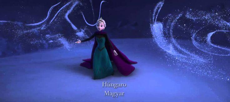 Frozen: Uma Aventura Congelada - Livre sou - 25 idiomas