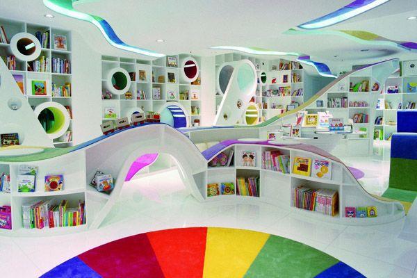 Креативный дизайн книжного магазина для детей   В мире интересного