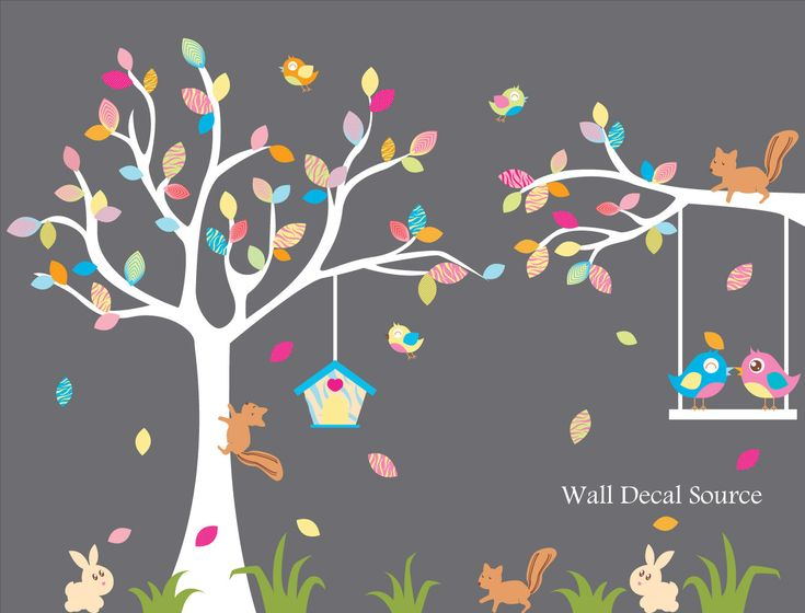 Paint the tree idea. Kids can paint coloured leaves on the tree, or we pre-paint leaves.