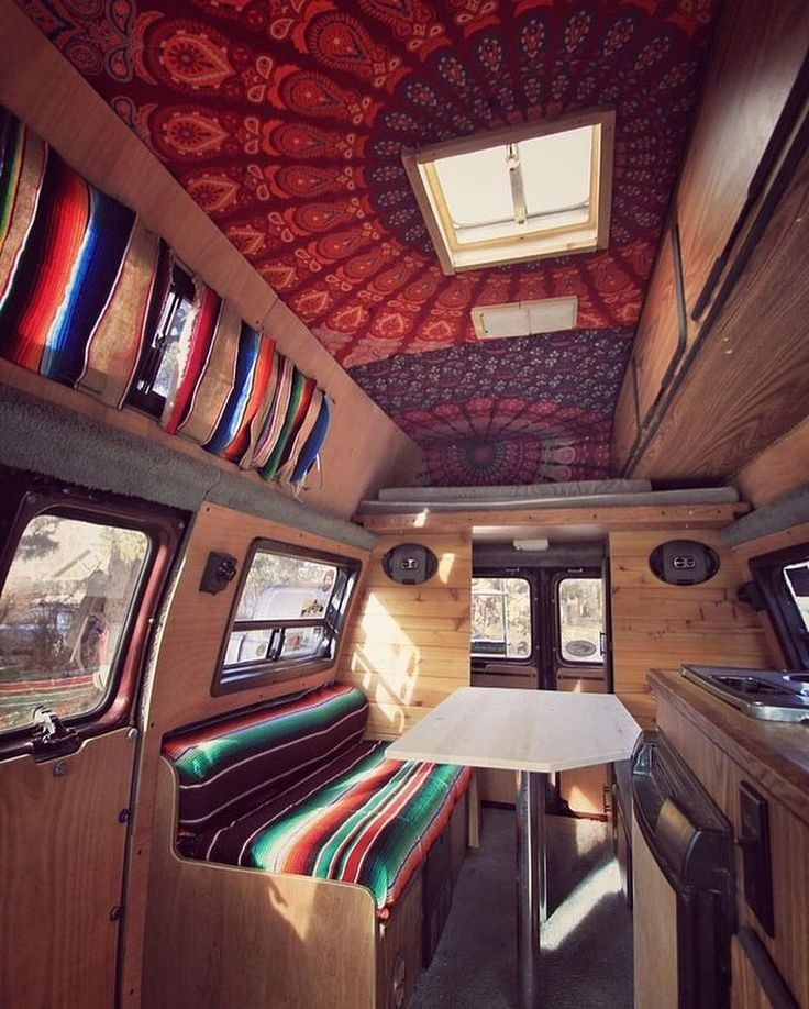 Best Interior RV Camper Van Ideas