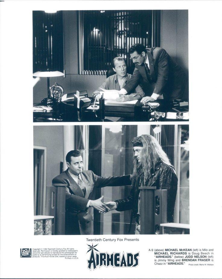 1994 виртуал майкл маккин ричардс актеров пустоголовые джадд нельсон брендан фрейзер | eBay