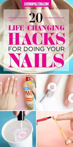 Tricks for Painting Nails - Nail Art Hacks
