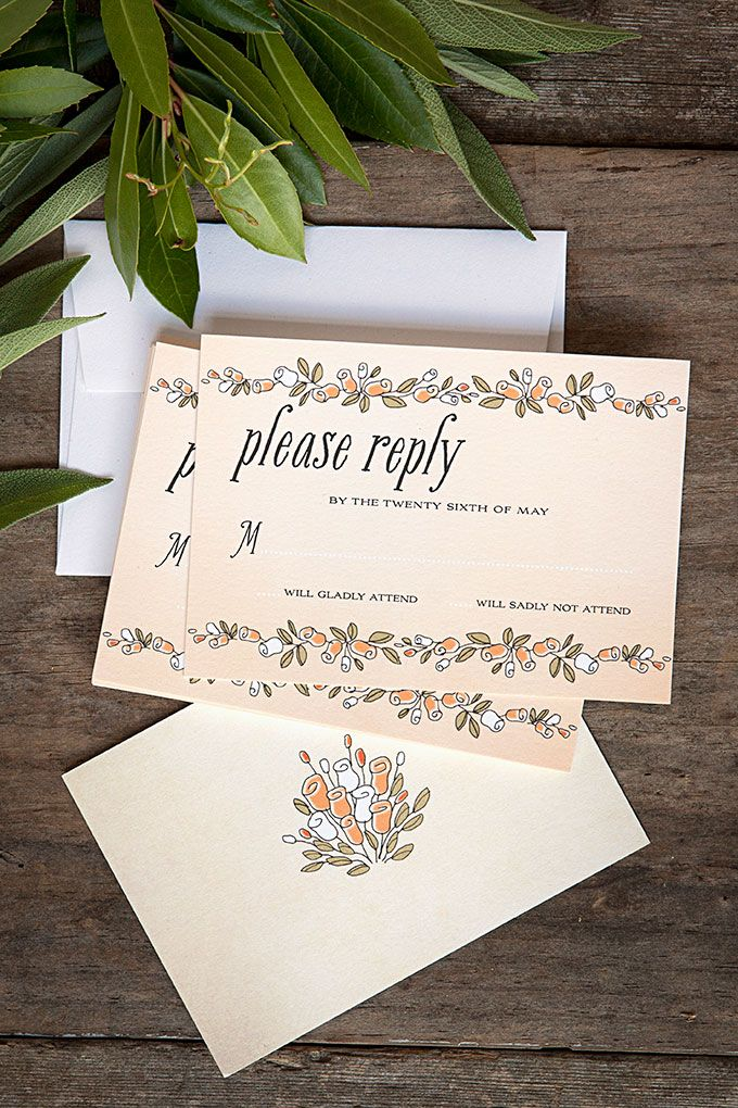 how many stamps do i need for my wedding invitations%0A Sweet Rose Wedding Reply Cards and Matching Stationery from Evermine   www evermine com