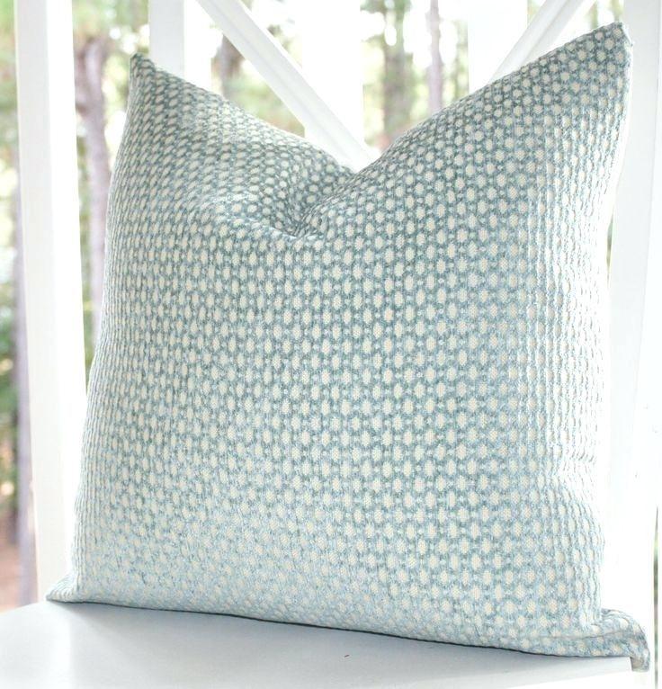Pleasant Seafoam Green Throw Pillows W9401791 Decorative Pillow