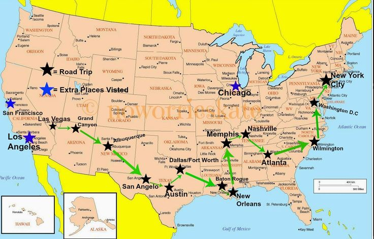 Come check out about my adventure through the United States of America!