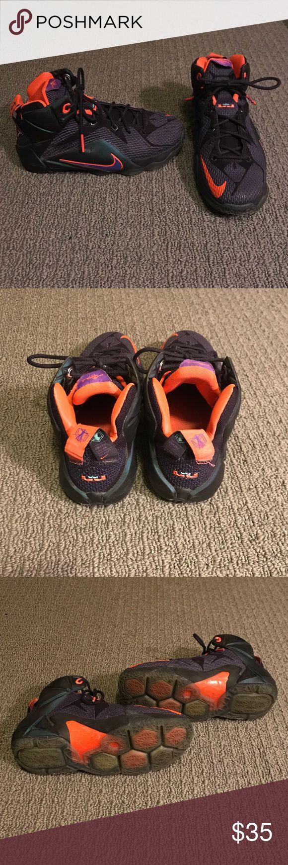 Kids Lebron 9 Shoes Lightly worn. In good condition. Lebron James Shoes Sneakers