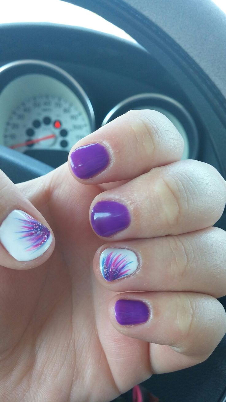 summer gel nails ideas