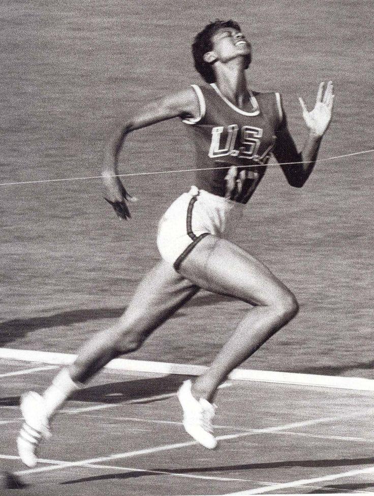 Wilma Rudolph - Athletics - Rome Olympics 1960 - Womens 100m, 200m & 4x100m