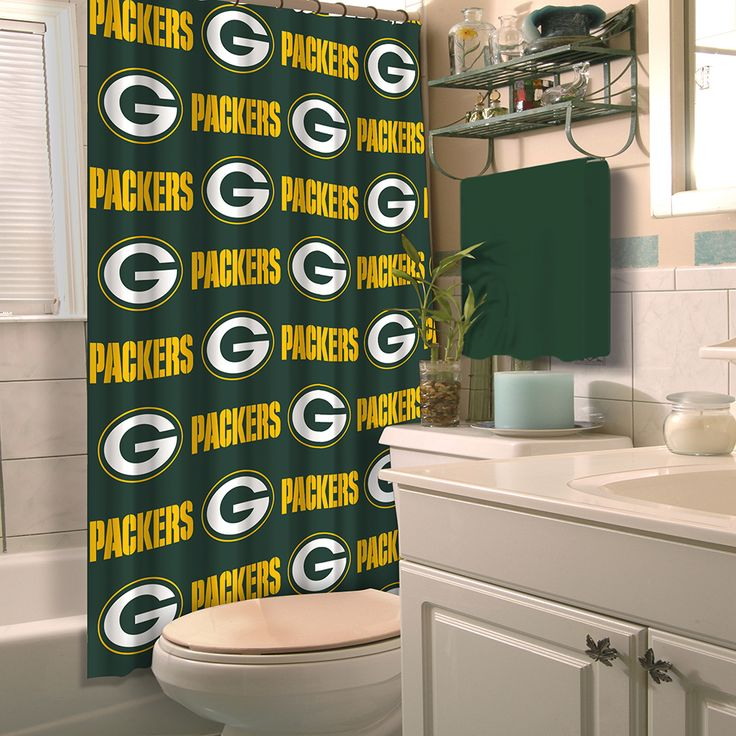 9 best Green Bay Packers Bathroom images on Pinterest | Green bay ...