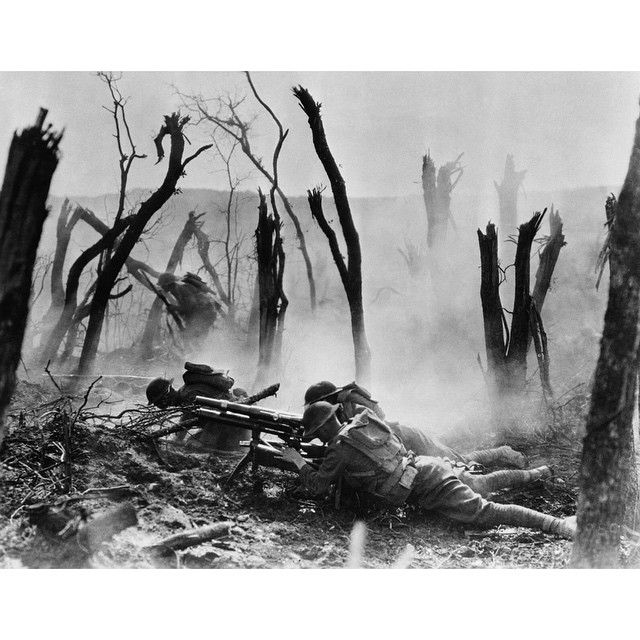 "#onthisday  The Battle of Belleau Wood during the First World War started on June 1, 1918. One of the great battles in Marine lore, they earned the nickname the Devil Dogs here. After the war, the area was renamed by the French: 'Bois de la Brigade Marine' ""Forest of the Marine Brigade."" #guns #war #history #army #retro #wwi #ww1 #worldwar1 #france #germany #usmc #usmarines #marines #devildogs #usa #america #1918"