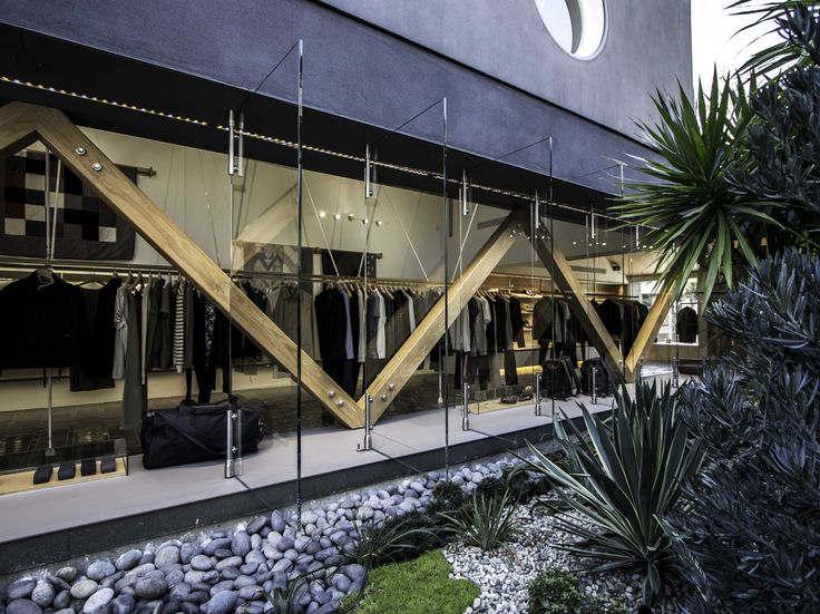 Accoya Used For A.C Clothing Store