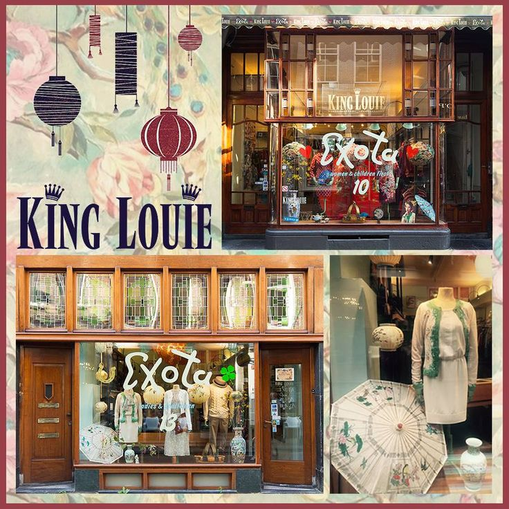 New window | Exota shops | Hartenstraat 10 & 13 | Amsterdam | 9 straatjes | Jordaan | King Louie | authentic | Winter Collection 2015
