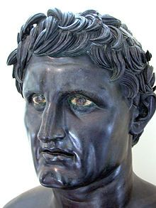 Seleucus/Nicator--(358-281 BC)  was one of the Diadochi. Having previously served as an infantry general under Alexander the Great, he eventually assumed the title of basileus and established the Seleucid Empire over much of the territory in the Near East which Alexander had conquered.