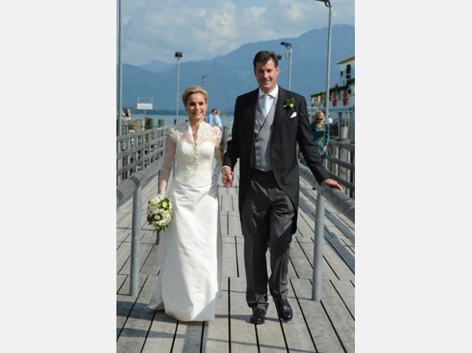 Wedding of Hereditary Prince Alexander of Isenburg and Sarah Lawrence