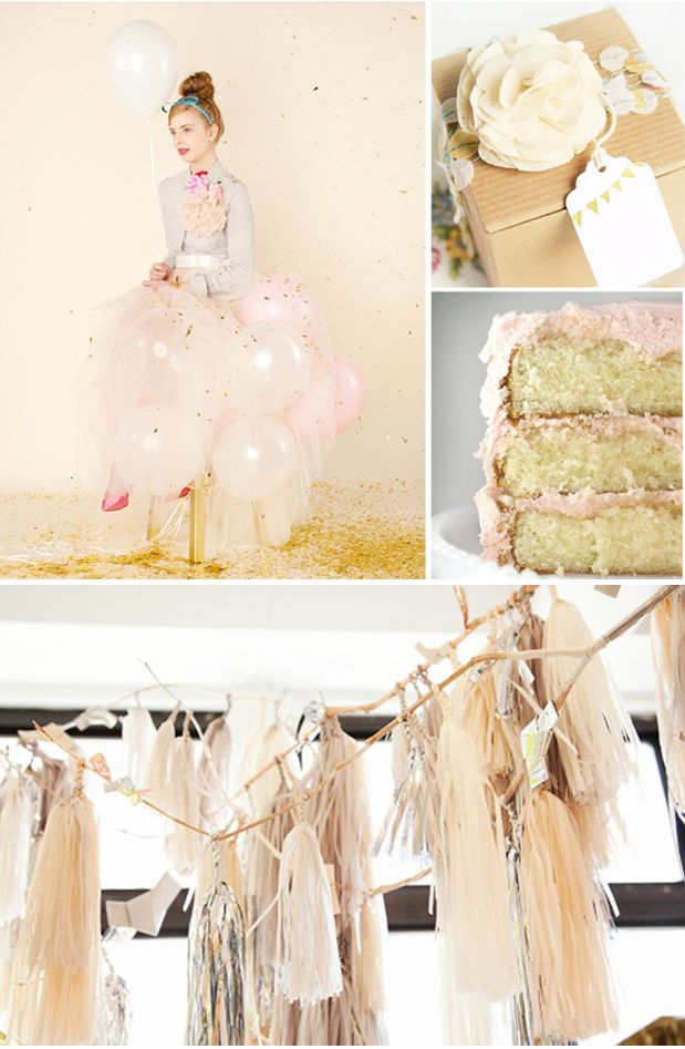 LILLI'S PINK BIRTHDAY PARTY -  first birthday ideas for girls - Google Search