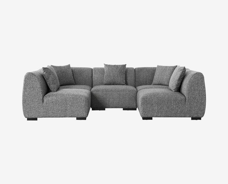 Modular Scandinavian sectional couch