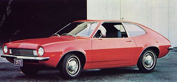 1971 ford pinto | Ford ads and period pictures / 1971 Ford Pinto.jpg | The Old Car ...