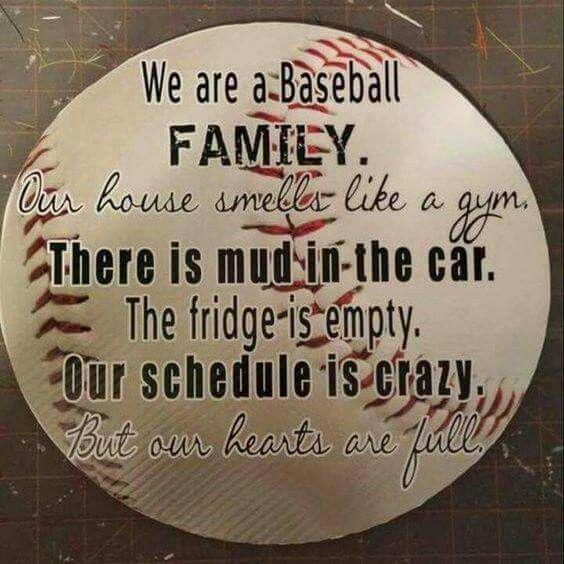 Softball not baseball