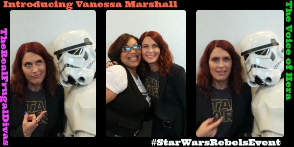 Check out this sneak peek into Star Wars Rebels with Vanessa Marshall aka Hera from the #StarWarsRebelsEvent.