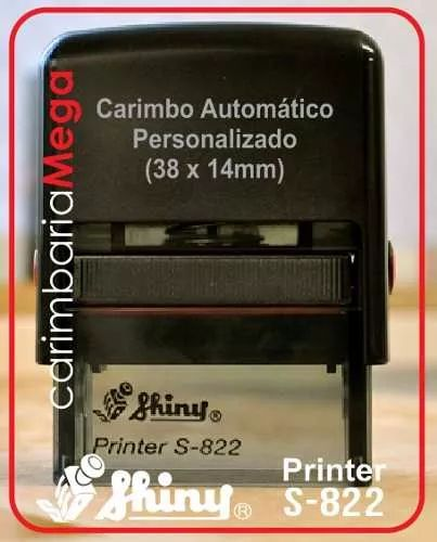 carimbo automático personalizado - profissional / professor