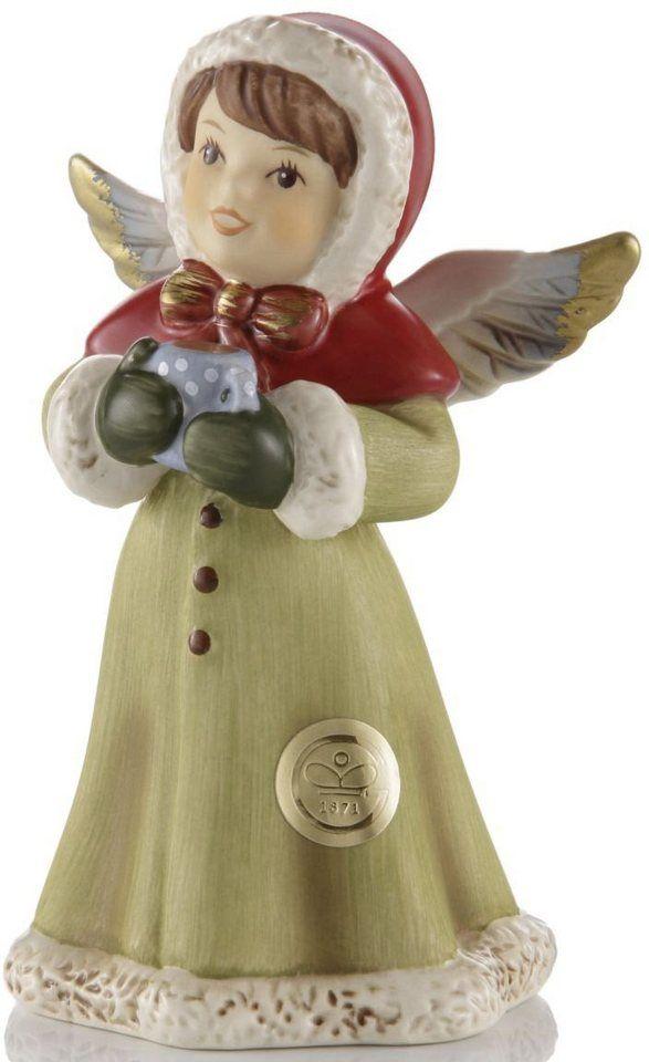 Goebel Engel, »Das schmeckt lecker« für 27,50€. GOEBEL-Sammlerfigur, Qualitätsprodukt, Aus Steingut, Handbemalt, Höhe 10 cm bei OTTO