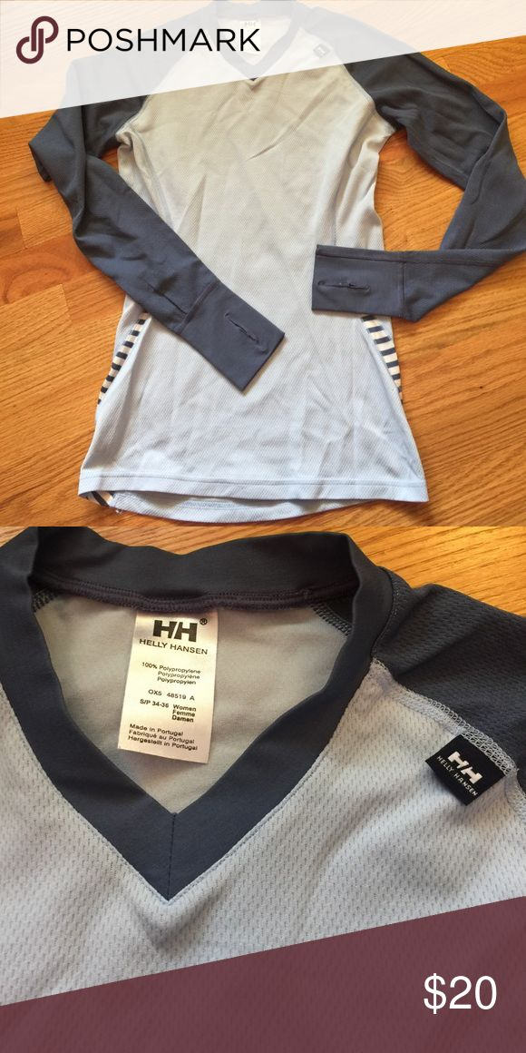 Helly Hansen  thermal top Gently used thermal top has thumb holes Helly Hansen Tops