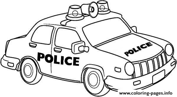 Free Download newyork police car coloring pages coloring