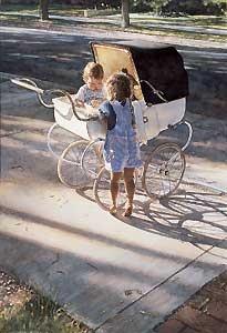 Where the Light Shines Brightest - Steve Hanks - World-Wide-Art.com - $160.00