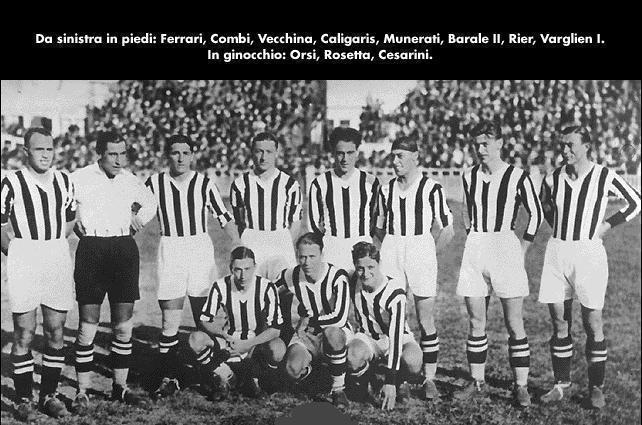 La squadra della Juventus - 1930