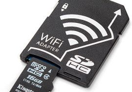 WiFi MicroSD Adapter – turn your humble microSD card into a wireless data superhero
