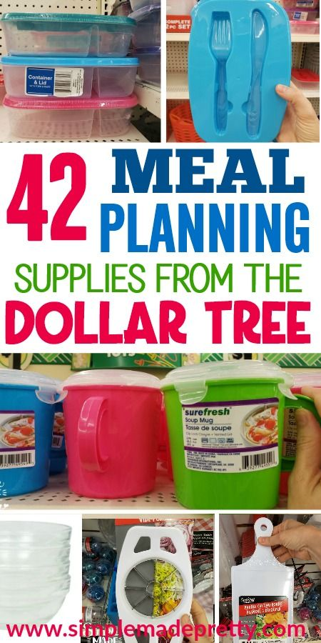 42 Meal Prep Tools From The Dollar Tree