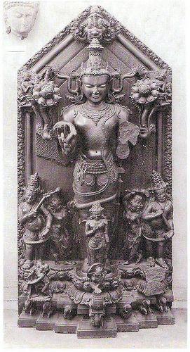 Surya 12AD Statue