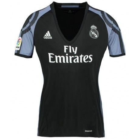 Camiseta del Real Madird para Mujer Third 2016 2017