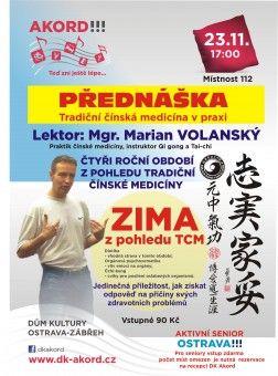 DK AKORD | Program Kurzy | Kalendář akcí | Ostatní akce | Tradiční čínská medicína v praxi - ZIMA